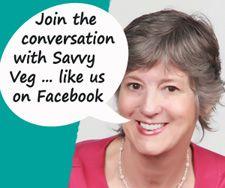 Savvy Vegetarian Facebook Page