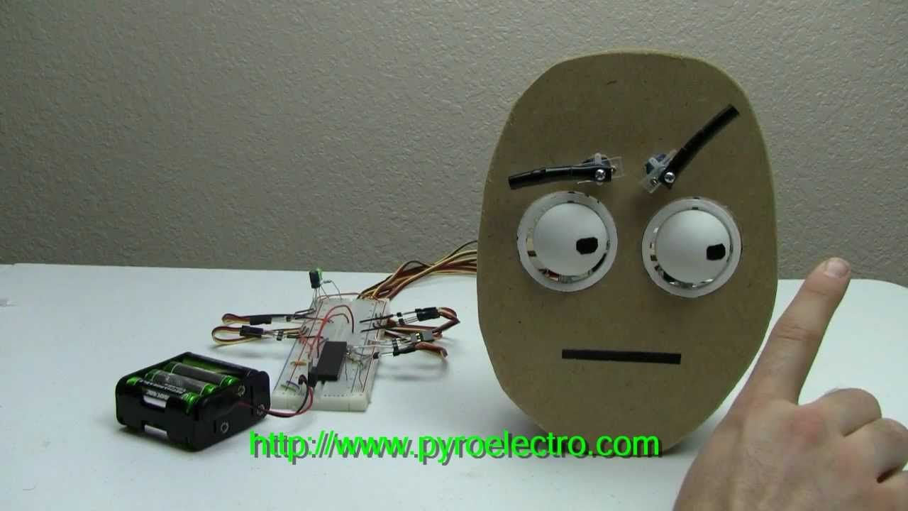 Diy Animatronic Eyes Puppets Diy Gadgets Halloween Animatronics