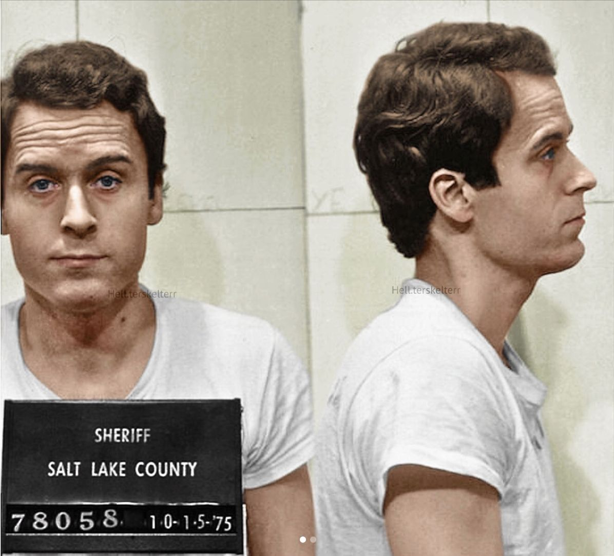 Pin by bb on oof teddy | Ted bundy, Famous serial killers, Serial