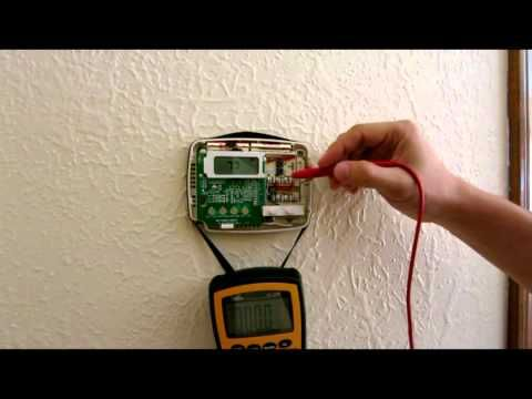 Wiring And Troubleshooting Thermostat Heat Cold Air Condition Ac