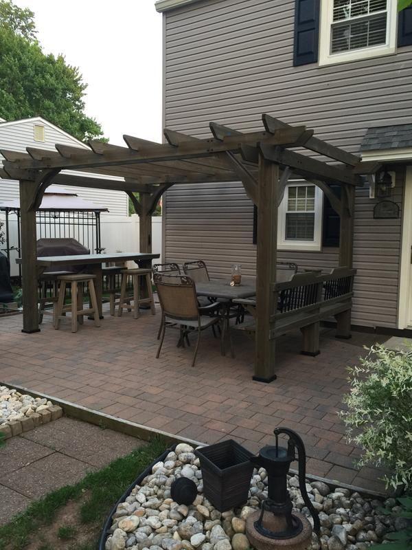 Awesome. in 2020 | Backyard pavilion, Backyard patio ... on Backyard Discovery Pavilion id=18678