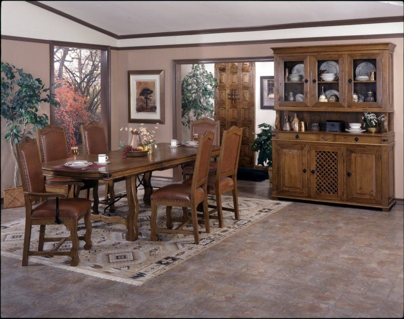 Dining Room Brown Dining Set Flower Vase Teacup Plate Cream Captivating Spanish Dining Room Table Inspiration