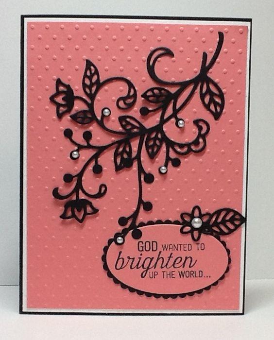 Flourish Framelits - Homemade Cards, Rubber Stamp Art, & Paper Crafts - Splitcoaststampers.com