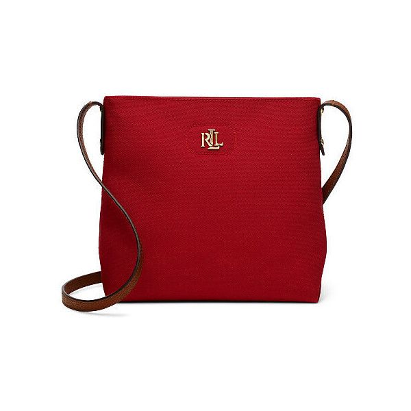 f7395eb90479 Ralph Lauren Lauren Nylon Bainbridge Crossbody featuring polyvore women s  fashion bags handbags shoulder bags ralph lauren shoulder bag crossbody  shoulder ...