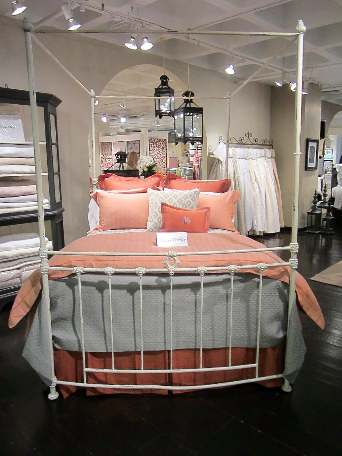 MAKE YOUR BED DREAMY LUXE LINENS Coral Bedroom Home Home Furnishings