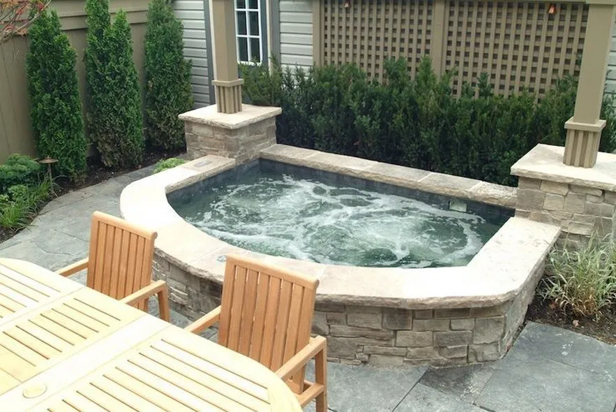 Fancy ideas for inground hot tub concept 42 best images ...