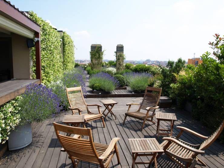 30 Idee Per Il Terrazzo O La Veranda Patii Disegno Della