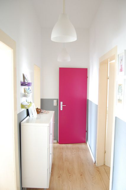White Room And Bright Door Like The Grey Cream Colored Trim