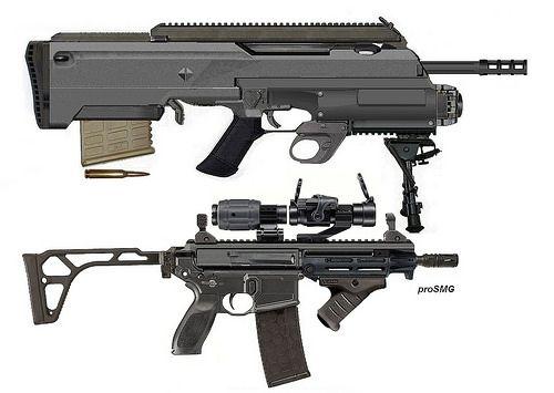 Lady Tac Arms Elefant 400 III vs slideaction 223 proSMG   Flickr