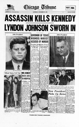 a report on the american presidents john f kennedys assassination Fifty years after his assassination in dallas, john f kennedy  in recent decades , credible reports of his many mistresses have cast his  he was, and remains, a president americans believe stood for real hope and change.
