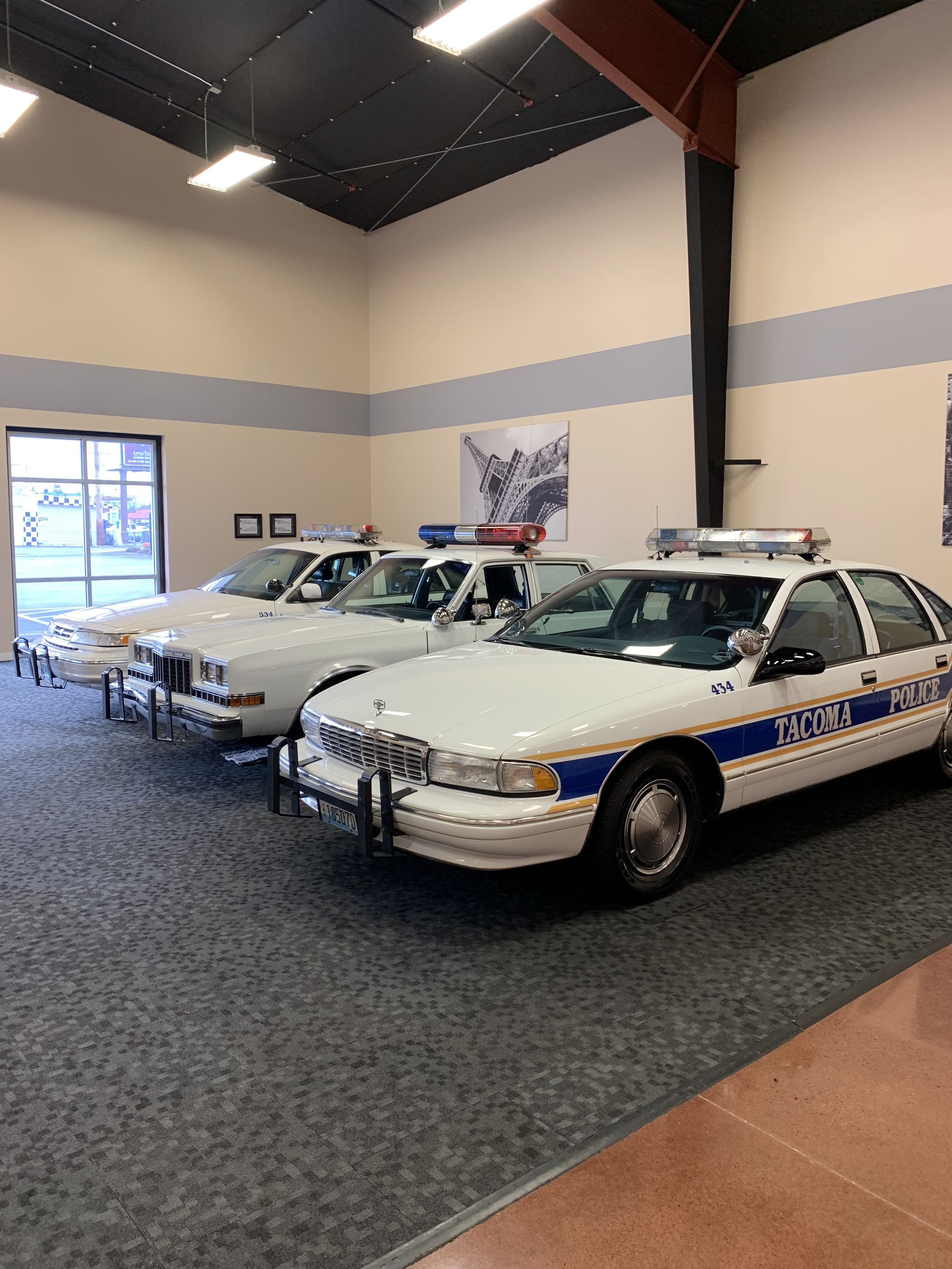 Wa Restored Tacoma Pd Units And Dupont Pd Police Cars Emergency Vehicles Old Police Cars