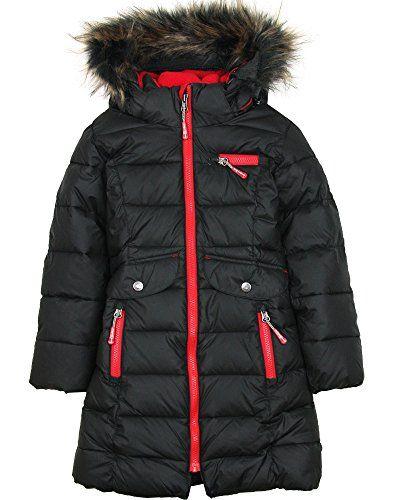 805af9d063d0 Deux par Deux Girls  Puffer Coat Black