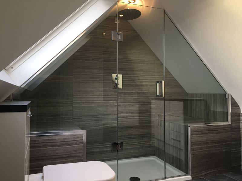 Loft & Sloping Ceiling Showers - Glass360 - Specialist and ...