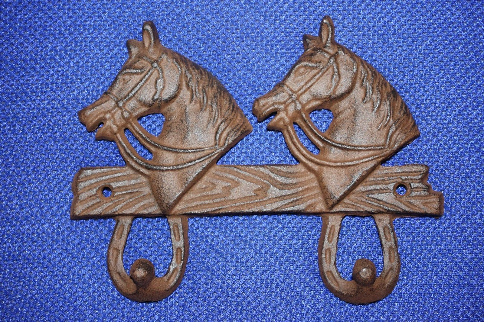 (5)pcs, COWBOY KITCHEN DECOR, CAST IRON COWBOY KITCHEN DECOR, HORSE