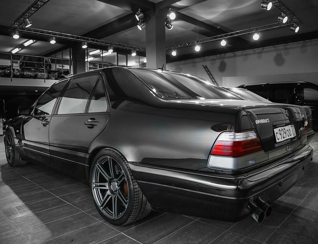 Mercedes Benz S600 7 3l W140 Brabus Autosport Edition Merc Benz
