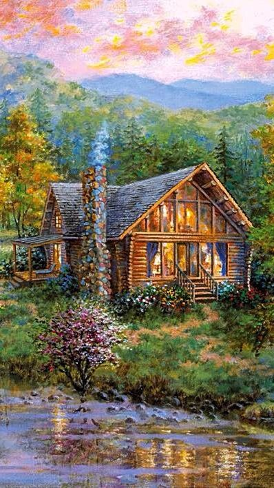 Nicky Boehme ~c.c.c~ The Cabin By The Lake