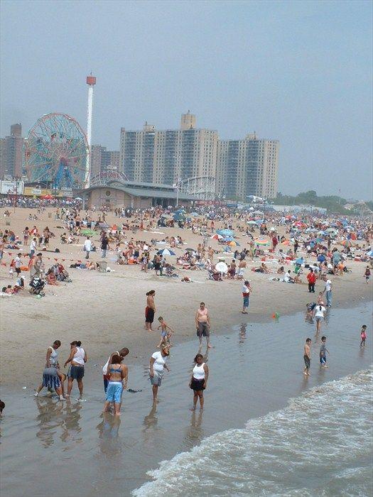 The Wonder Wheel Coney Island Ny Image Coney Island Brooklyn New York Island Beach