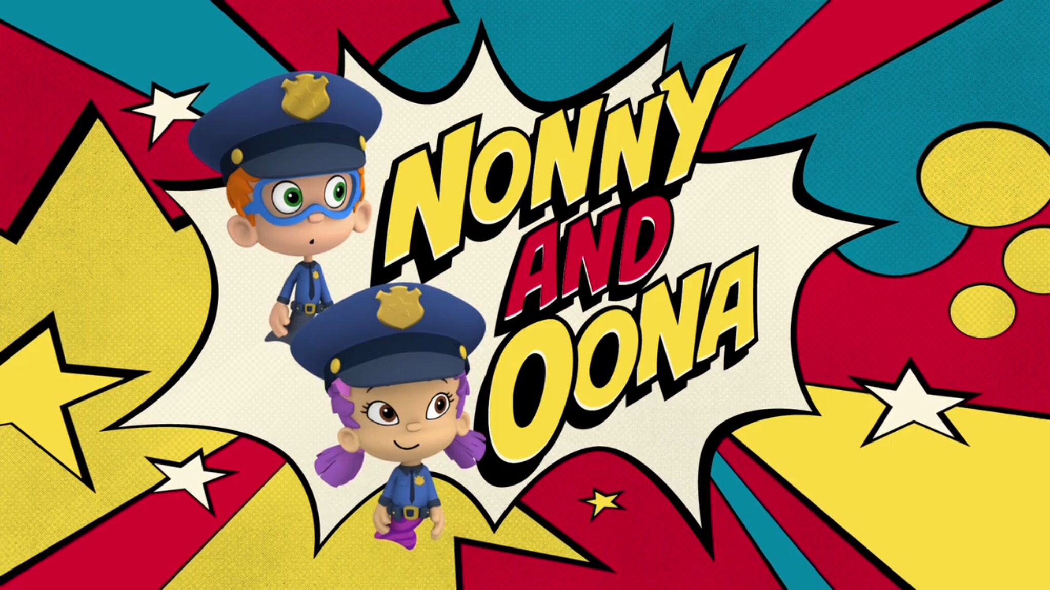 Nonny And Oona Are The Cops! | Nick Jr  News Report in 2019