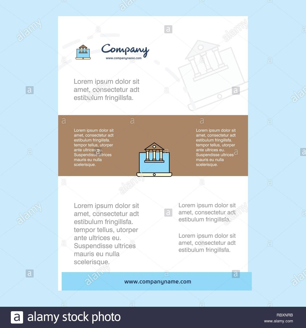 Powerpoint Indesign Real Estate Market Update Flyer Template