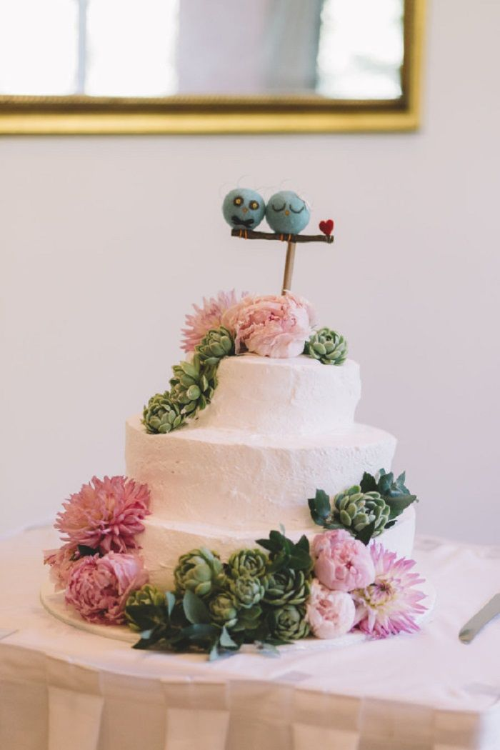 Wedding cake | itakeyou.co.uk #weddingcake