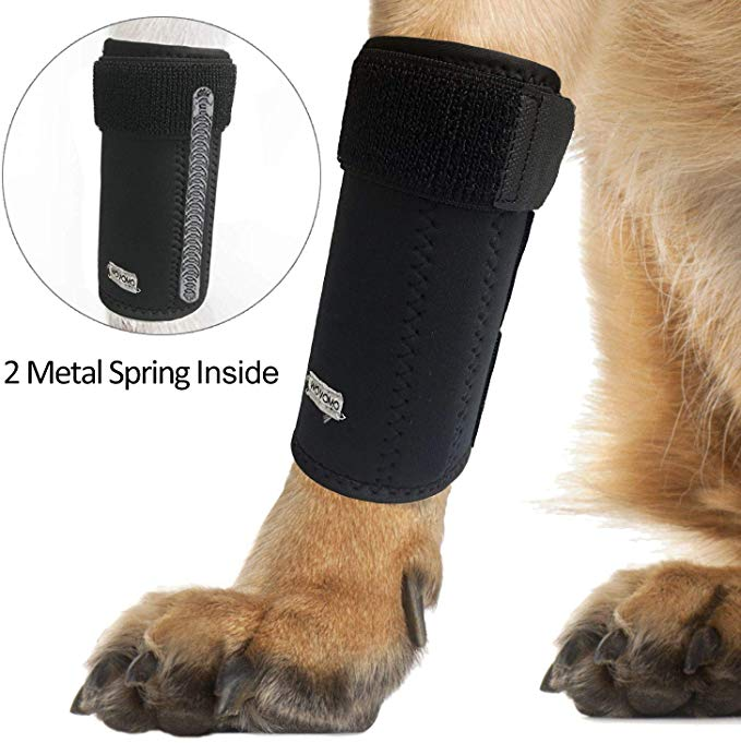 Dog Canine Front Leg Brace Wrap, Pair of Dog