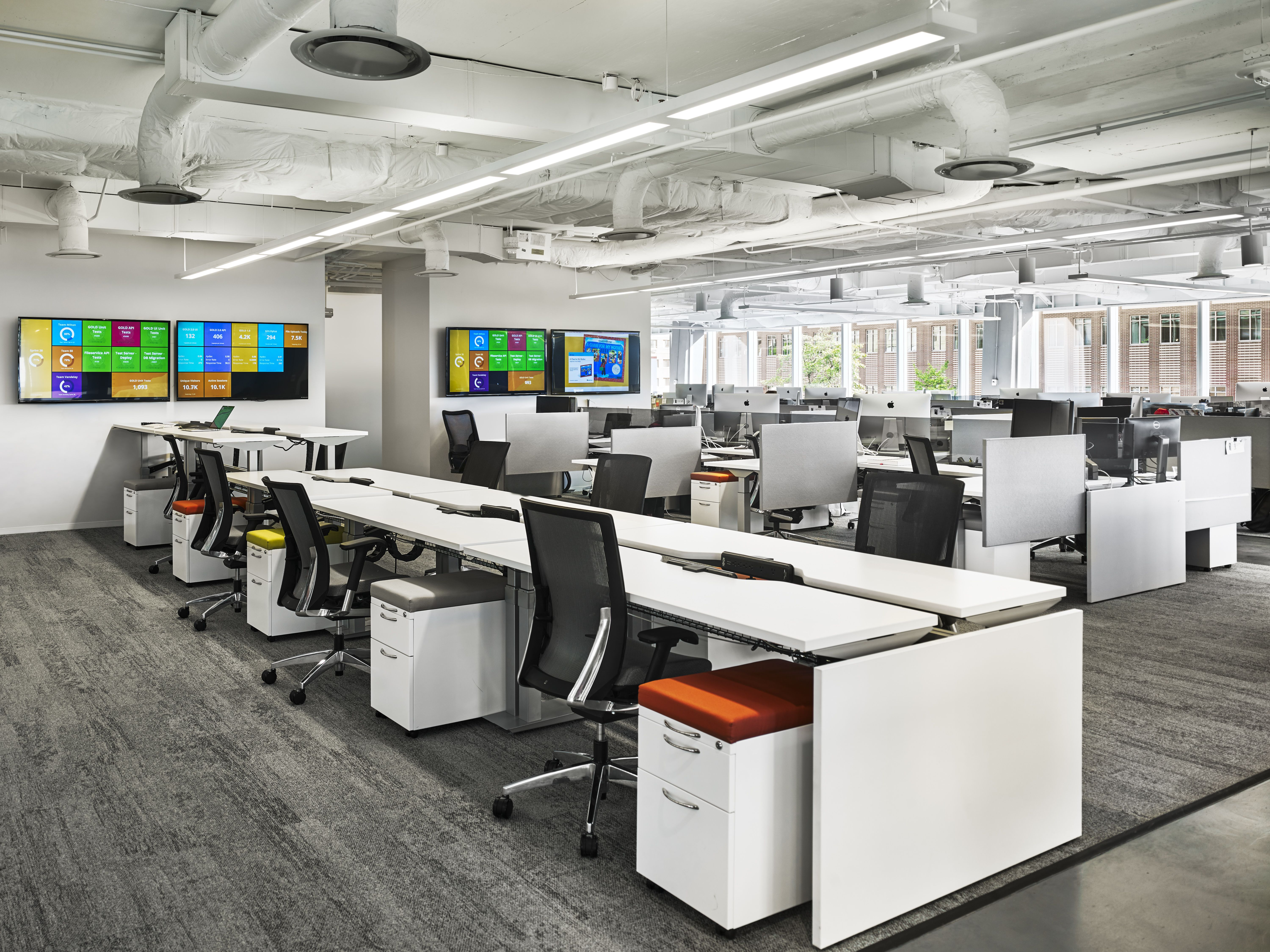 Teaching Strategies In Bethesda, Maryland / Architecture By Gensler /  Furniture By MOI
