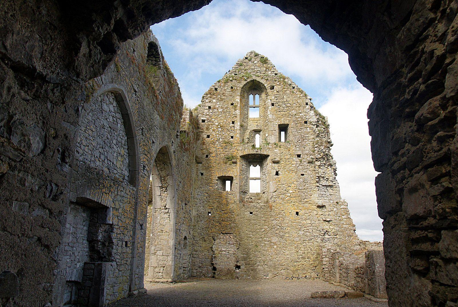 Ruins of Hore Abbey, County Tipperary, near Cashel, Ireland.