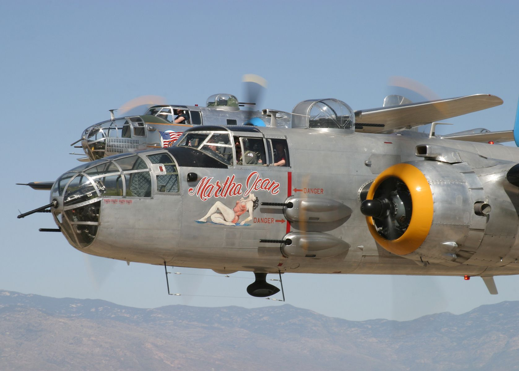North American B-25 Mitchell Bombers ~ BFD