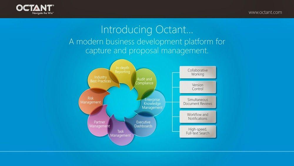Octant Capture and Proposal Management Software for Complex - management proposal