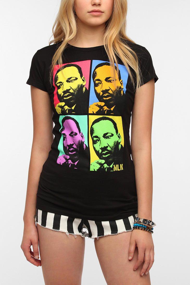 MLK Pop Art Tee Online Only