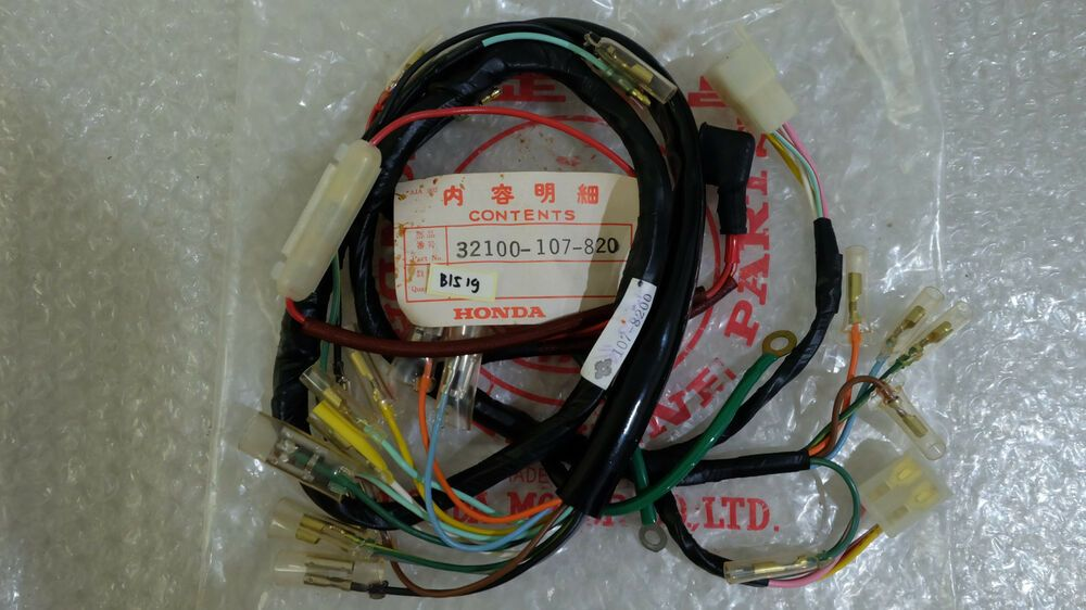 HONDA CB100 CB125S CL100 CL125S MAIN WIRING HARNESS NOS Japan 32100-107-781  | Honda, Motorcycle parts and accessories, HarnessPinterest