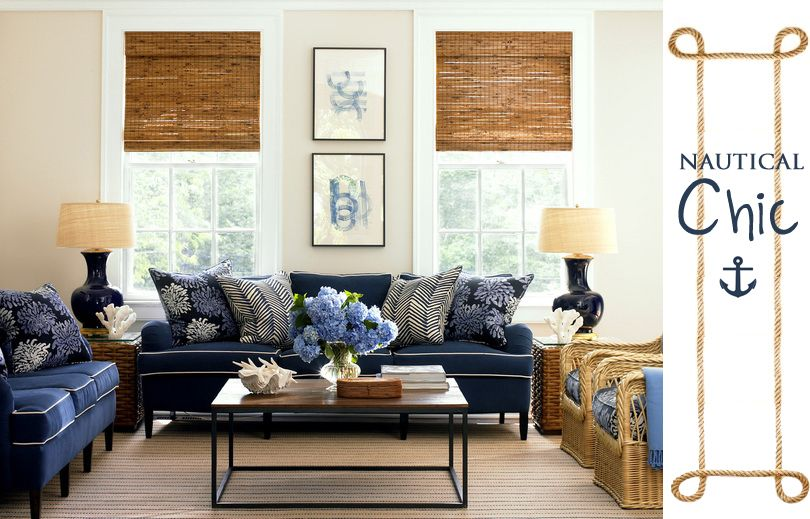 Here S How To Decorate A Family Room Everyone Will Actually Want To Hang Out In Chic Living Room White Family Rooms Cottage Living Rooms #navy #blue #couch #living #room #ideas