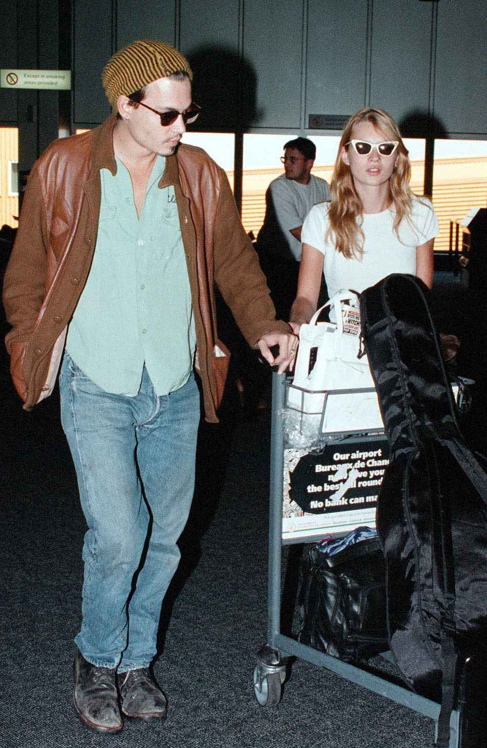 Google chrome themes johnny depp - Old Flames Kate Moss With Johnny Depp