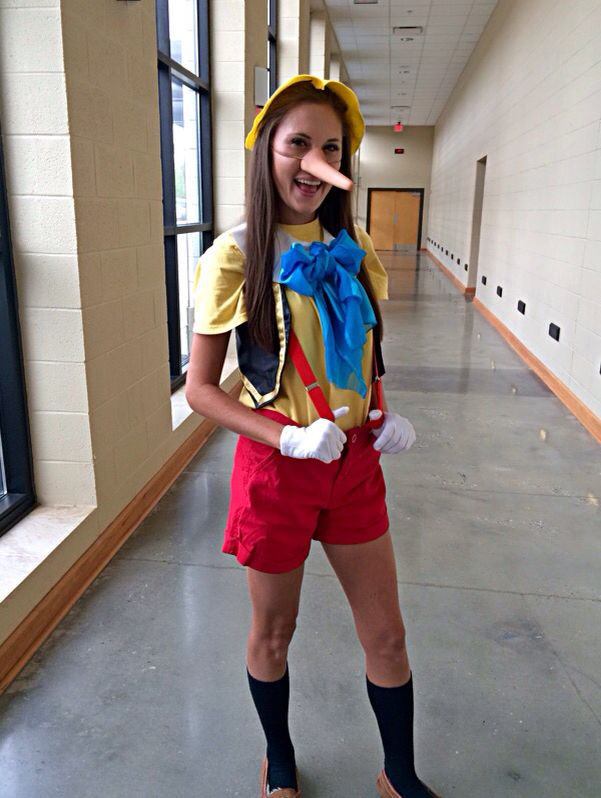 Pinocchio Costume   Costumes   Pinterest   Pinocchio ...