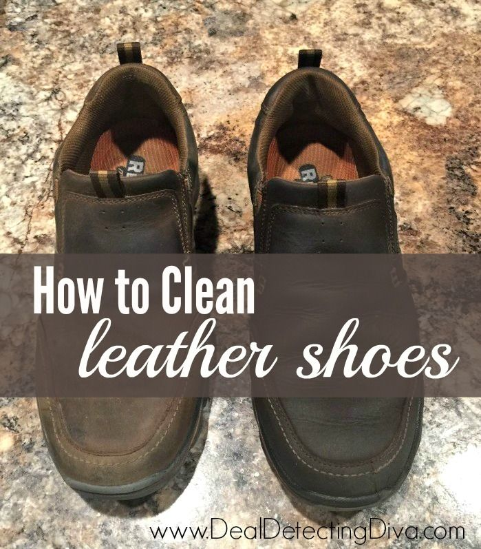DIY: How To Clean Leather Shoes Using ONE Ingredient