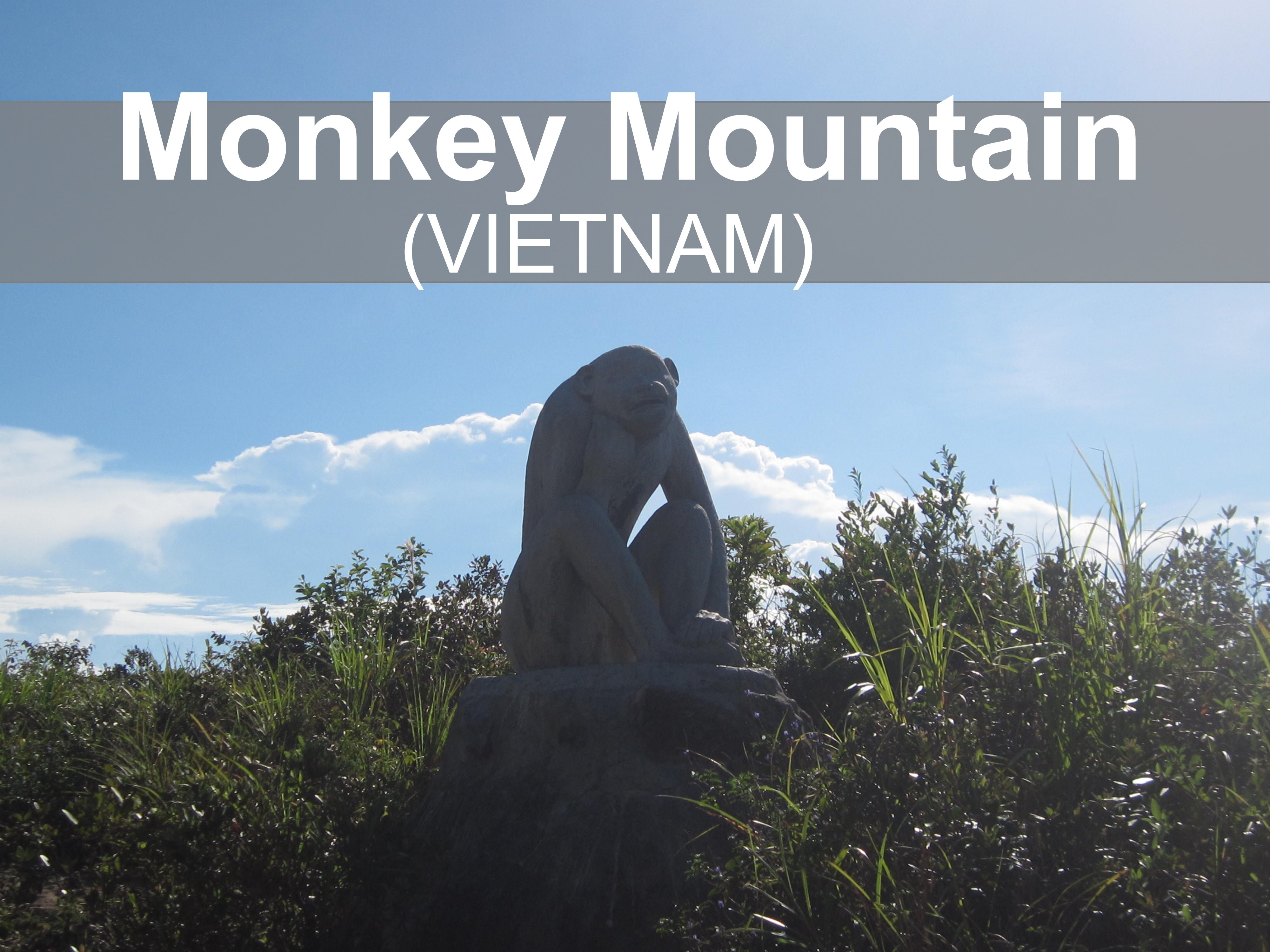 Monkey Mountain (Vietnam). This mountain is located in the ...