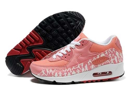 090beeaaa0fbc low price nike air max 90 womens essential print salmon coral pink white  55c5e 49e3e