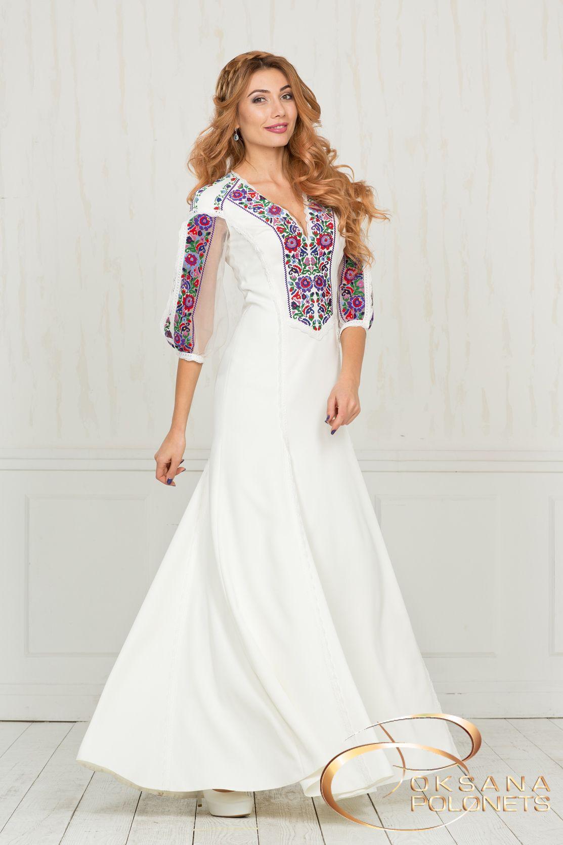Весільна сукня з вишивкою http   polonets.prom.ua   35d4b90265664