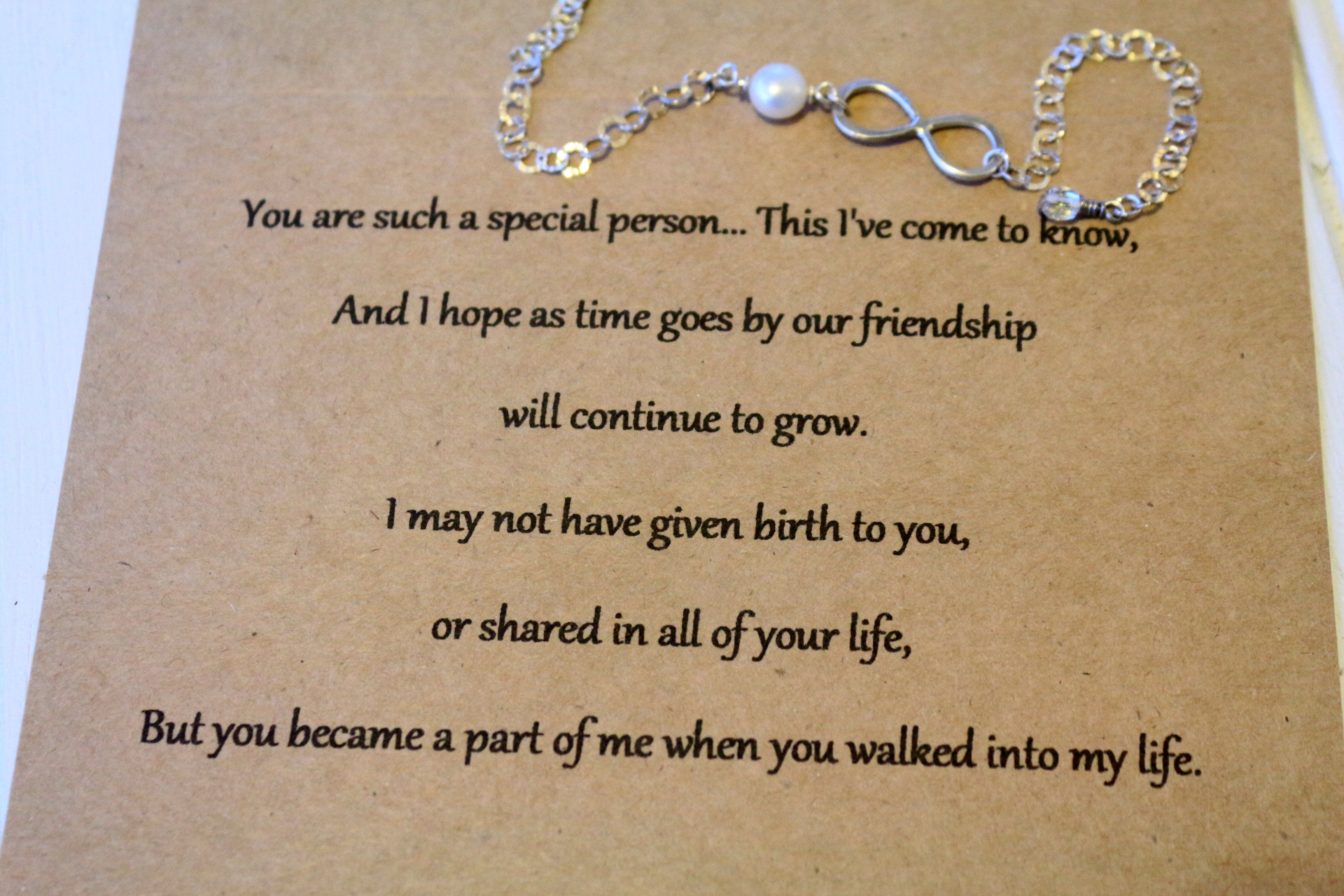 letter to my step daughter for my stepdaughter home bracelets infinity 13504