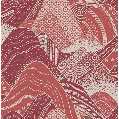 World Menagerie Meru Mountain 10m X 52cm Wallpaper Roll Mountain