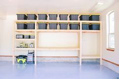 DIY Garage Shelves — Modern Builds