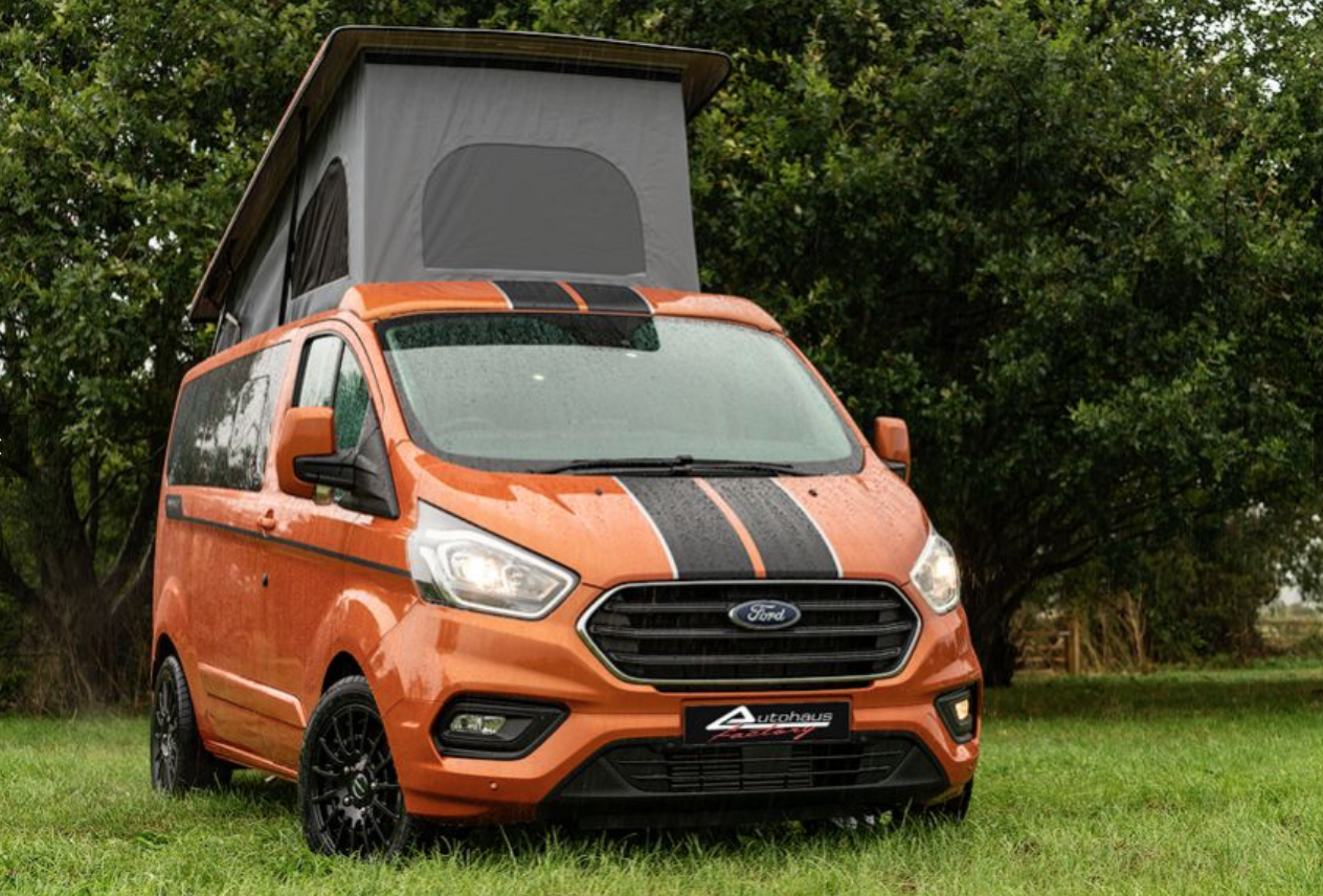 The Custom Ford Transit Campervan Built For Weekend Warriors
