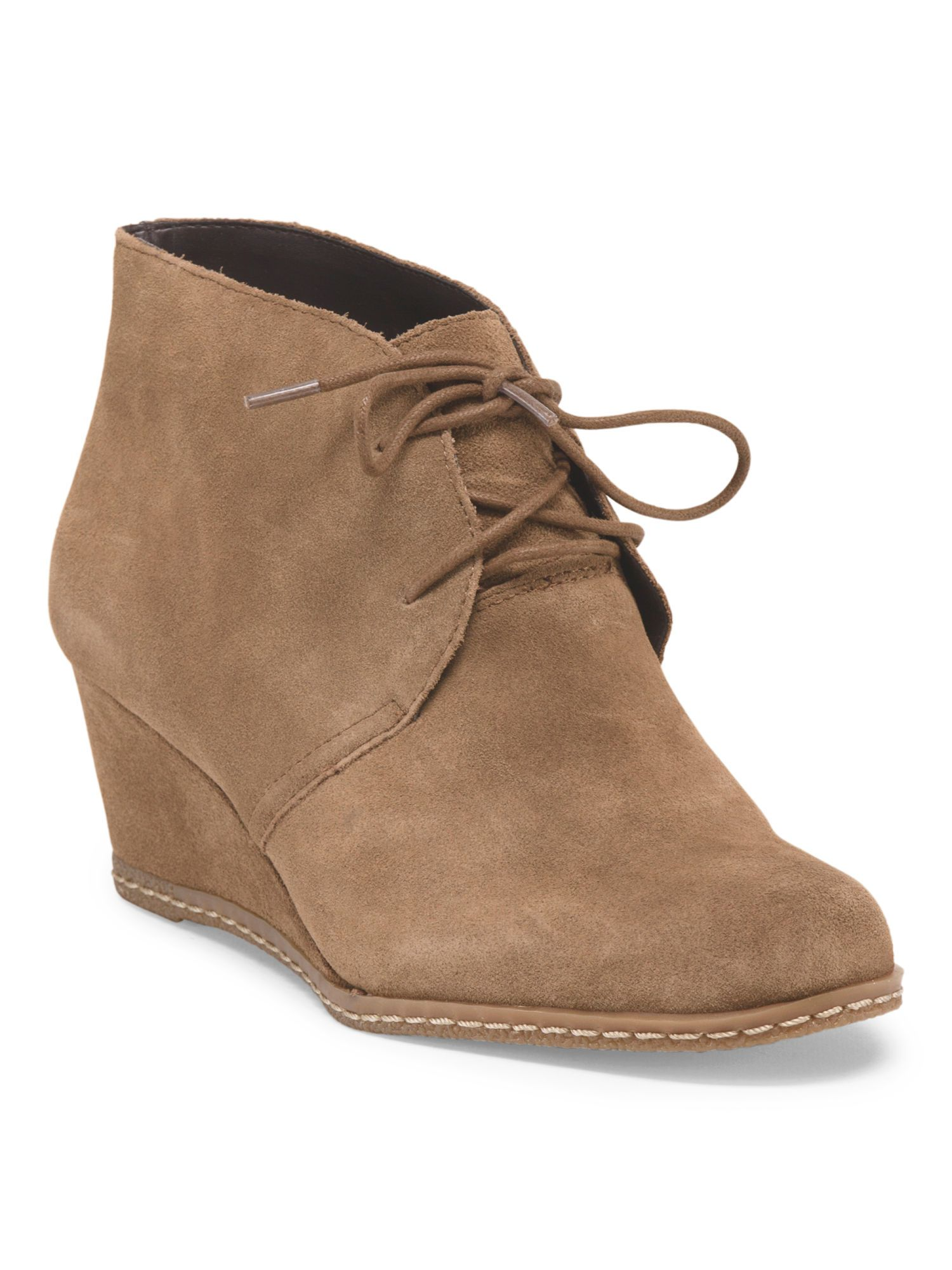 9f5f5b6925181 FRANCO SARTO Suede Lace Up Hidden Wedge- just found these at Marshall's!!!  Score!!