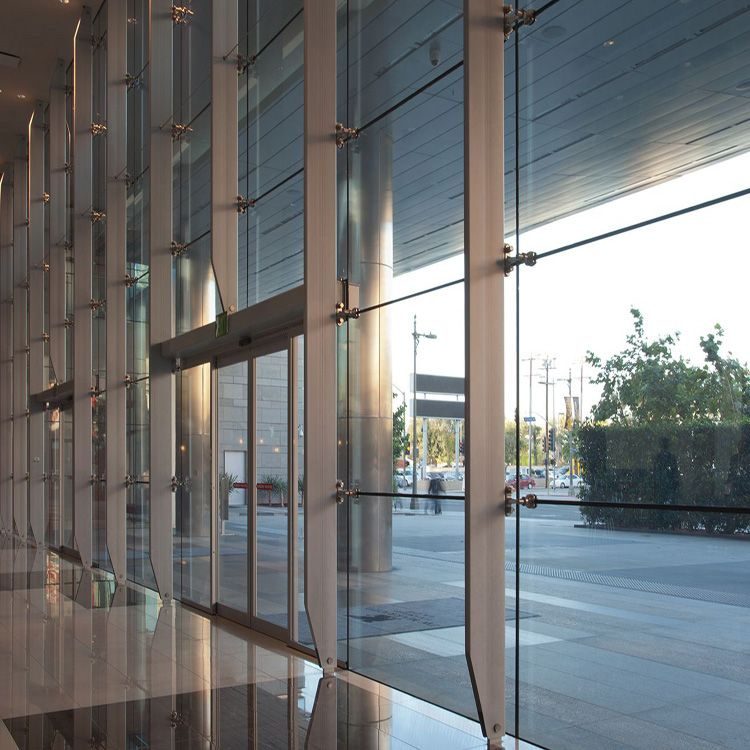 Good Price For Cheap Commercial Steel Structure Glass Curtain Wall