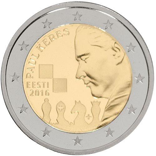 Monedas 2 Euros Conmemorativas Tienda Numismatica Y Filatelia Lopez Compra Venta De Monedas Oro Y Plata Sellos España Acces Monedas Monedas De Euro Estonia