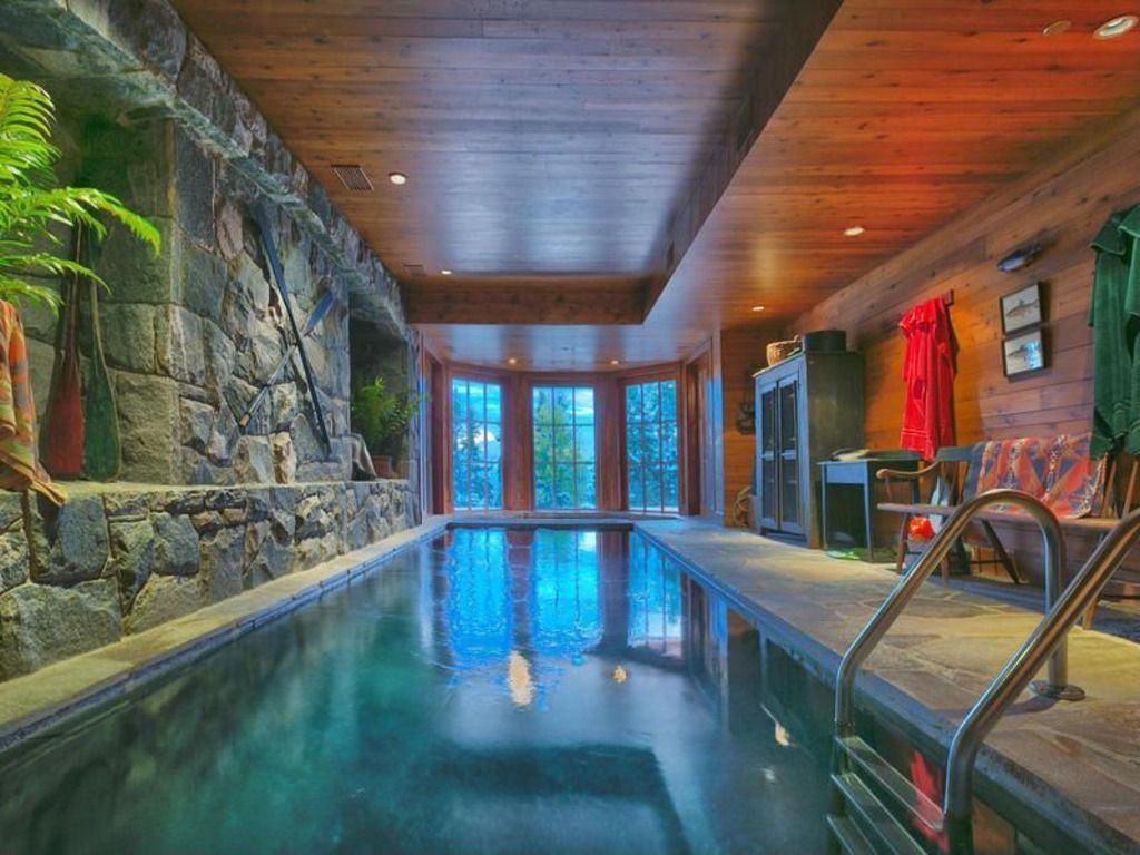 45 Screened In And Covered Pool Design Ideas Luxury Swimming Pools Wood Paneling And Indoor Pools