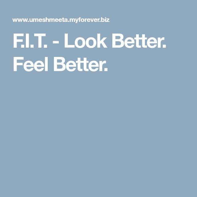 Feel better look better be better withpinterest