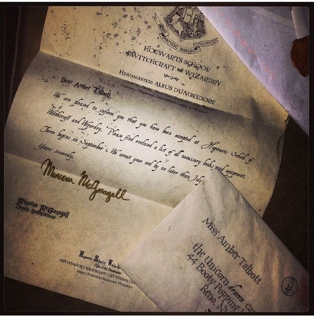 Hogwarts+Acceptance+Letter+Personalized+Harry+by