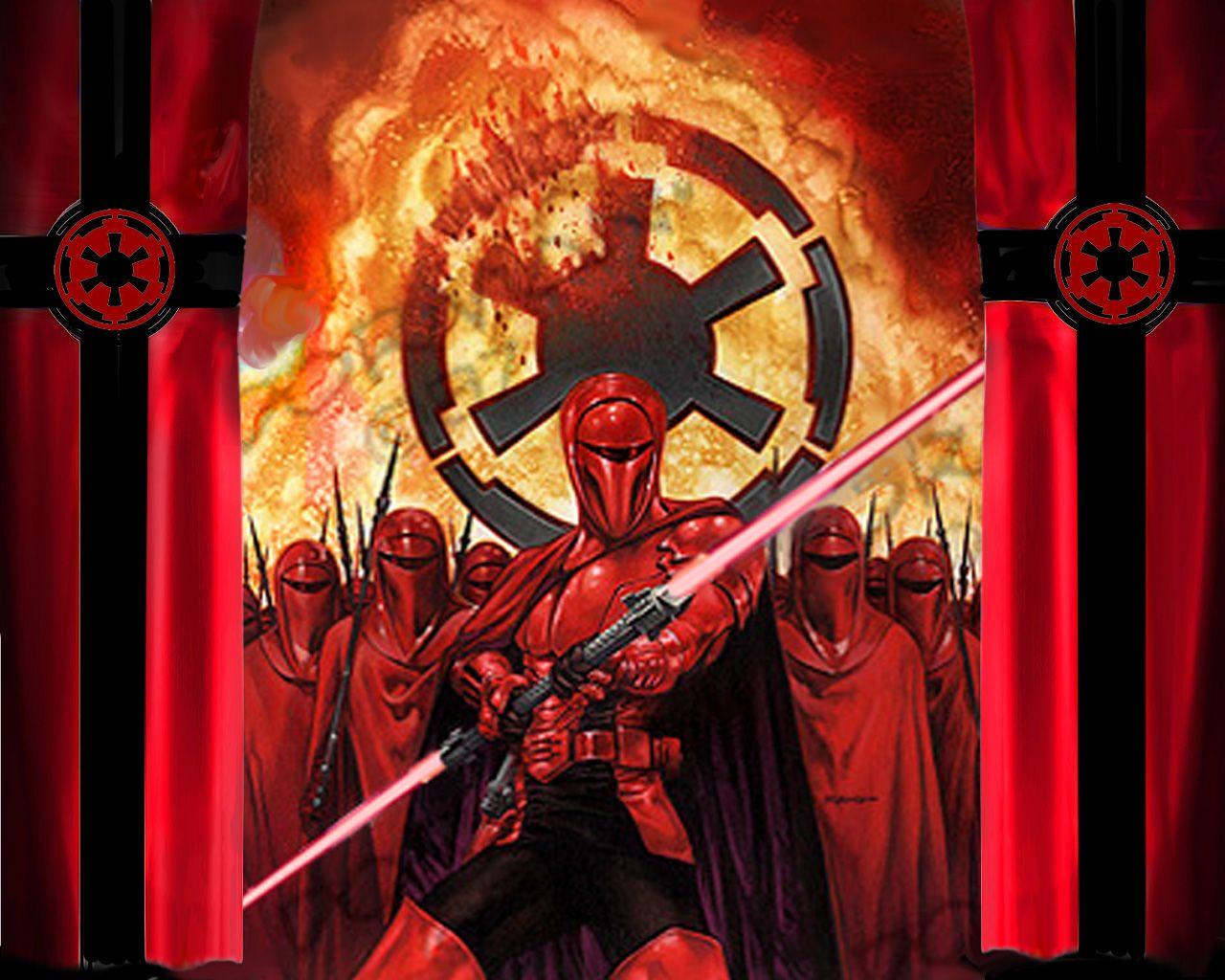 Star Wars Red Guard Wallpaper Wallpapershit