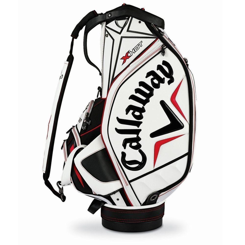 Callaway x hot staff bag whiteblackred callaway golf